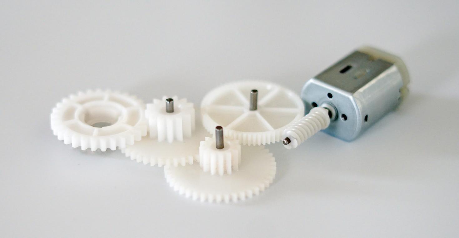 Kaskaden-Getriebe aus Technopolymer