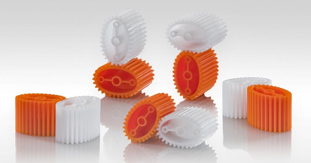 Produzione ingranaggi in tecnopolimero