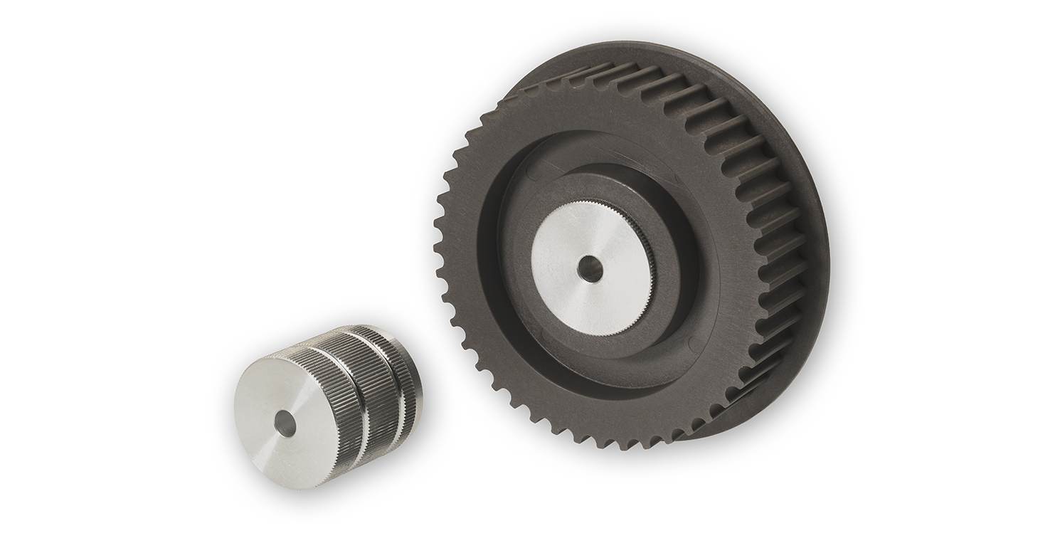 HTD timing toothed pulleys 5m and 8m