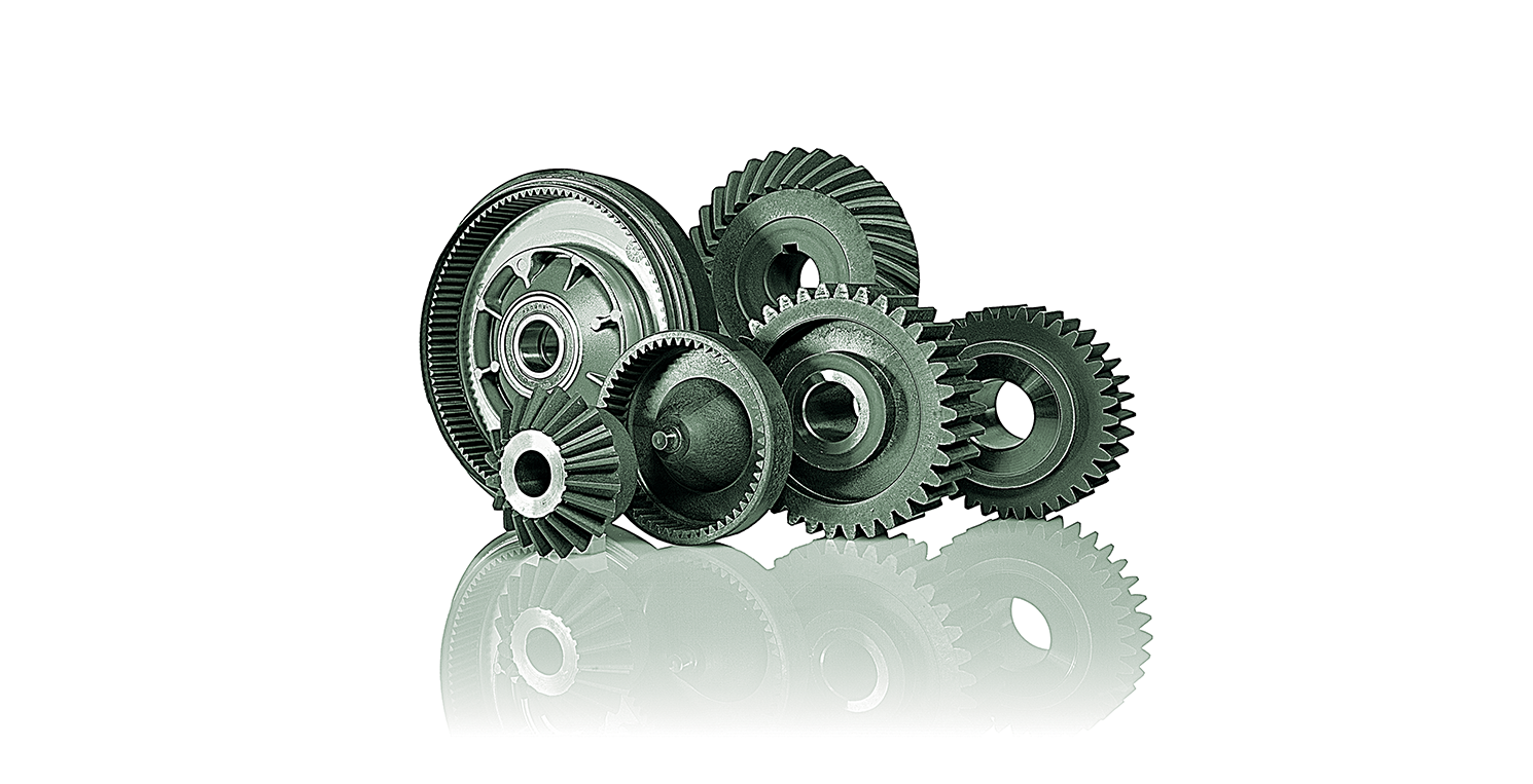 technopolymer gears for glass processing