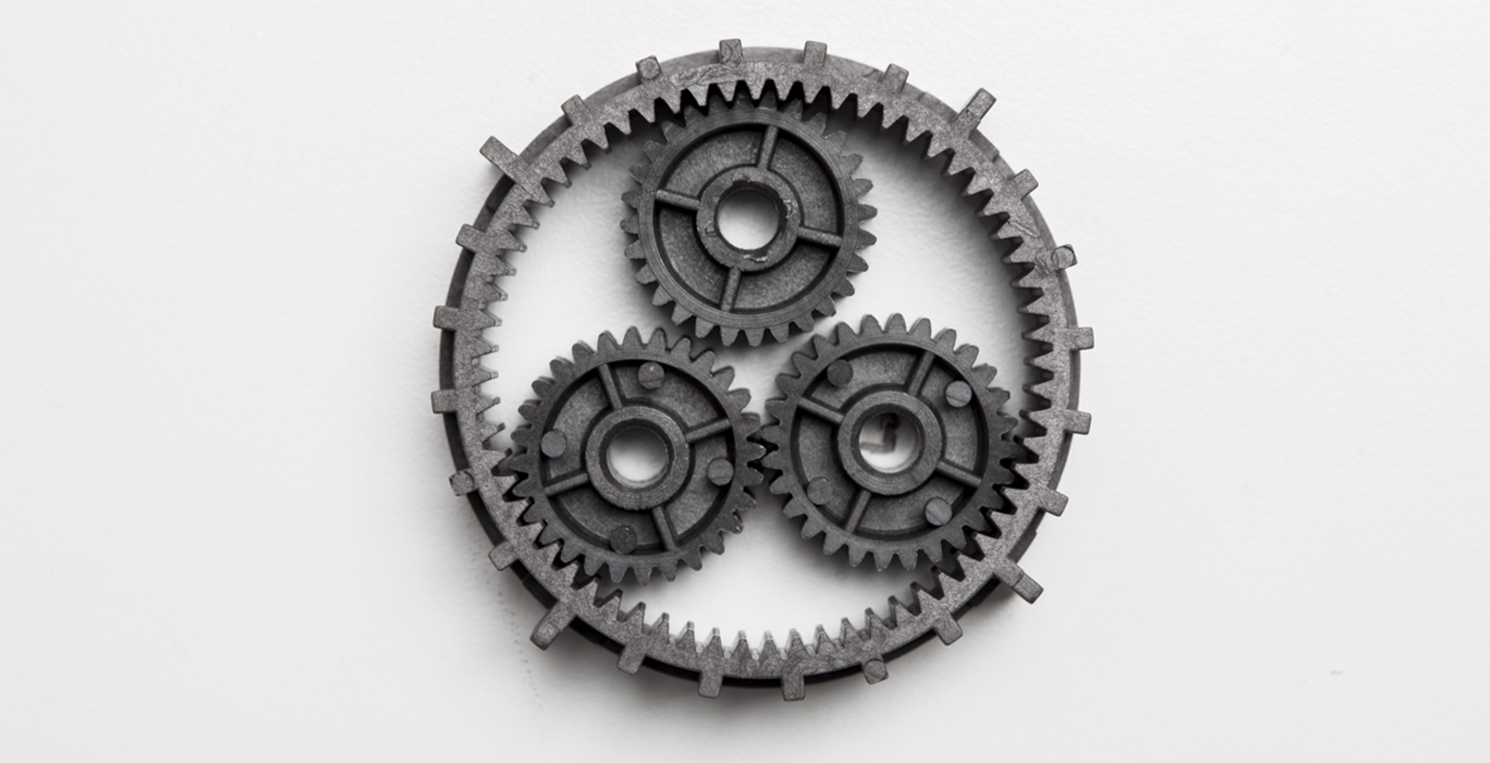 Technopolymers and precision gears