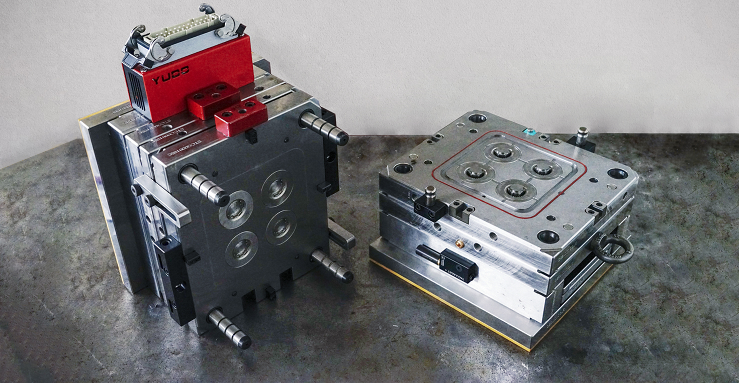 design of moulds and components in plastic
