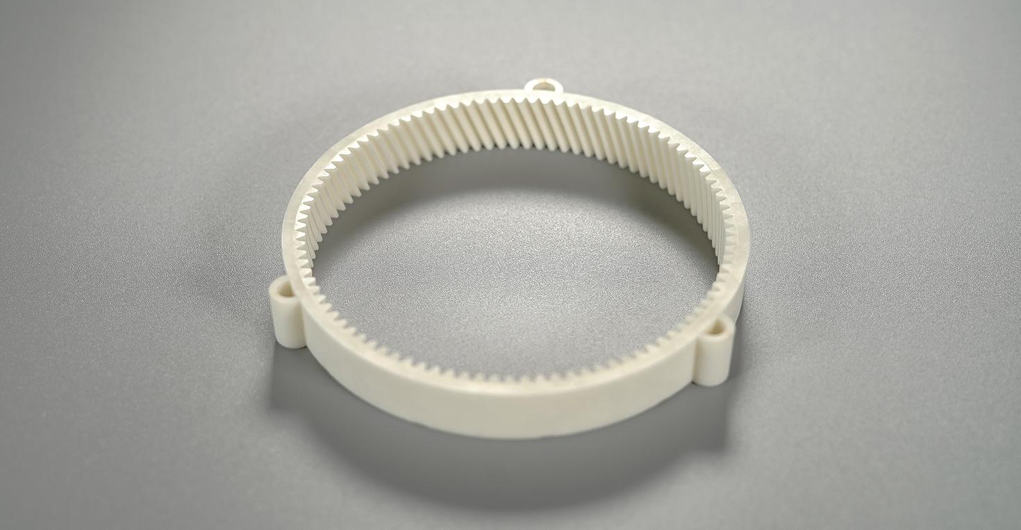 progettazione e stampaggio a iniezione ingranaggi